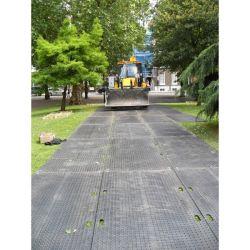 Plaque de roulage antidérapante 50 ou 80T: Plaques de roulage plastique incassable et plaques de protection des sols