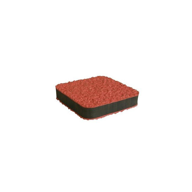 Dalle antivibratoire ADEKWAT noir noir pour environnement sec.