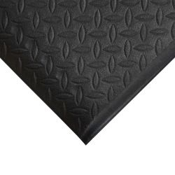 Tapis anti fatigue à surface tôle diamant, ORTHOMAT DIAMOND