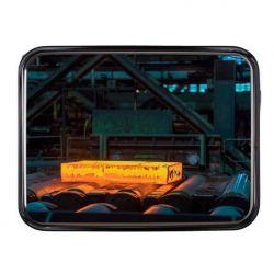 Miroir industriel de sécurité en inox