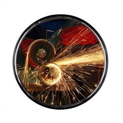 Miroir de sécurité industriel en inox  | Miroirs de sécurité