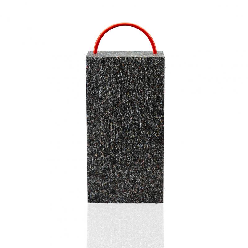 Plaque de calage rectangulaire pour grues et nacelles, Plaques de calage en plastique noir incassable et imputrescible