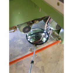 Miroir d'inspection avec ou sans éclairage intégré  | Miroirs de sécurité