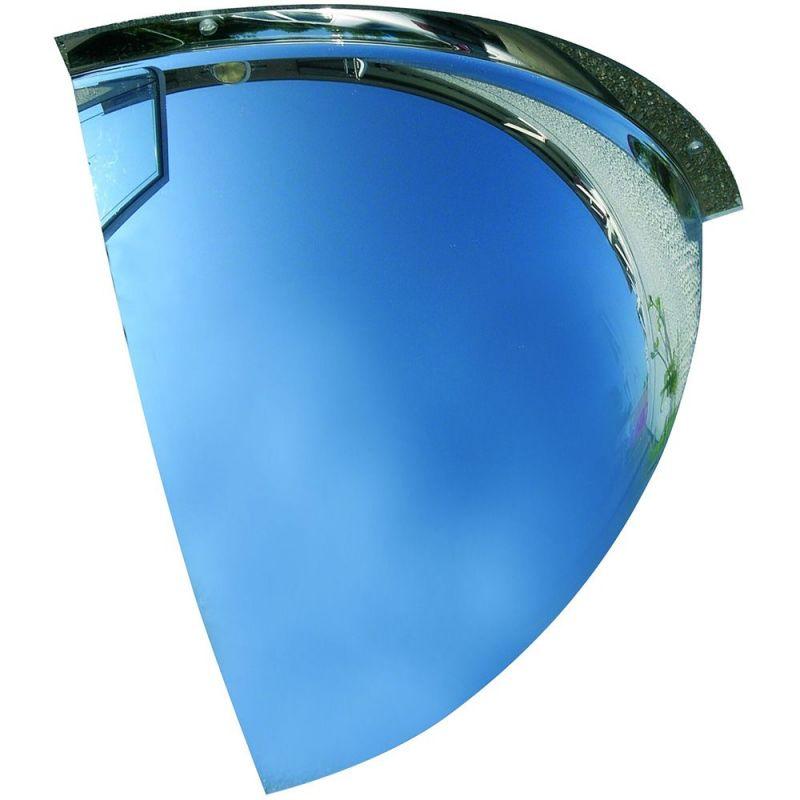 Miroir de surveillance coupole à 90°  | Miroirs de sécurité