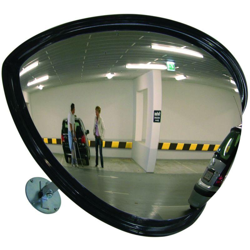 Miroir industriel grand angle type rétroviseur  | Miroirs de sécurité