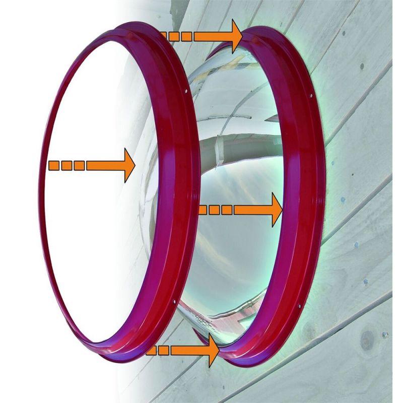 Miroir en polycarbonate grand angle à 180°  | Miroirs de sécurité