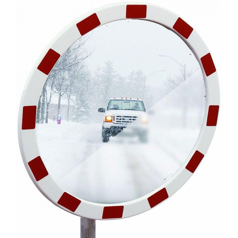 Miroir industriel en inox anti-givre et anti-buée  | Miroirs de sécurité