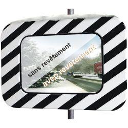 Miroir routier en inox...
