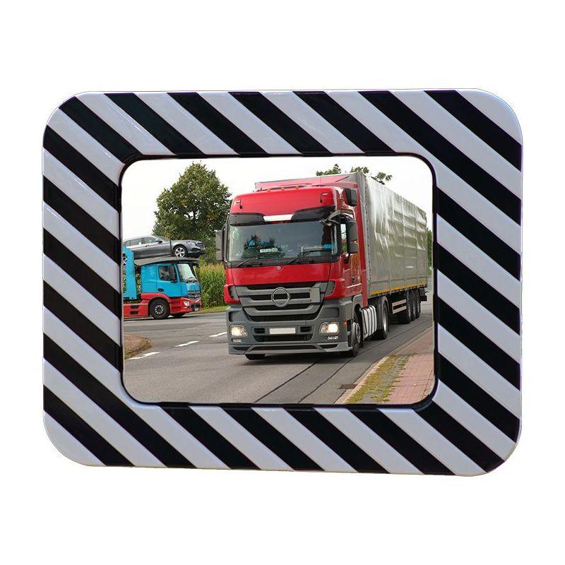 Miroir routier en inox antigivre et antibuée    Miroirs de sécurité