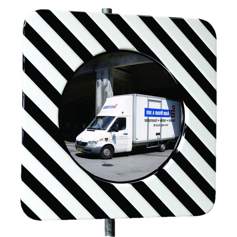Miroir d'agglomération en polycarbonate  | Miroirs de sécurité