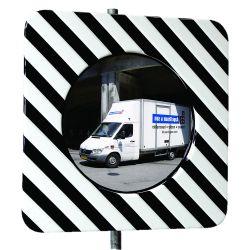 Miroir d'agglomération en inox  | Miroirs de sécurité