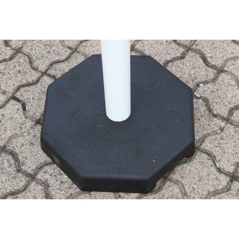 Kit de poteaux acier avec chaine de délimitation   Protection des entrepôts