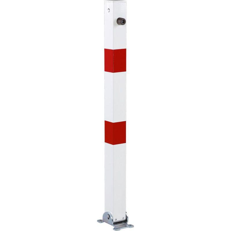 Poteau de parking rabattable | Equipement de parking et de voirie