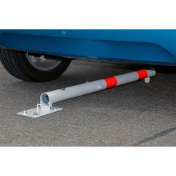 Poteau de parking rabattable | Equipement de parking et de voirie