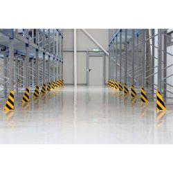 Sabot de protection pour échelles en acier | Protection des entrepôts