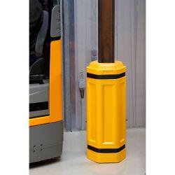 Butoir de protection ocotgonale pour piller | Protection des entrepôts