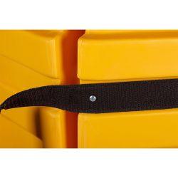 Butoir de protection rond pour pilier | Protection des entrepôts