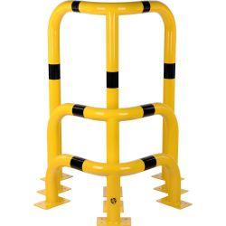 Arceaux de protection en acier pour angles | Protection des entrepôts