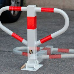 Arceau de parking pliable | Equipement de parking et de voirie