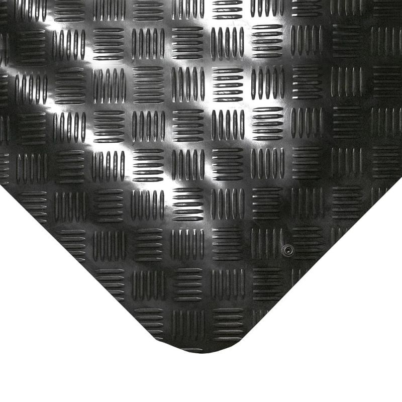 Tapis anti fatigue ESD en tôle diamant, SENSO DIAL