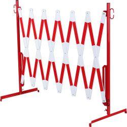 Barrière de sécurité extensible sur pieds | Barrière de sécurité | Barrière et poteau de Sécurité