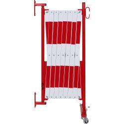 Barrière extensible fixation murale et roues | Barrière de sécurité | Barrière et poteau de Sécurité