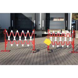 Barrière d'accès extensible pour voie large | Barrière de sécurité | Barrière et poteau de Sécurité
