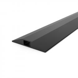Gaine protège-câbles en PVC noire