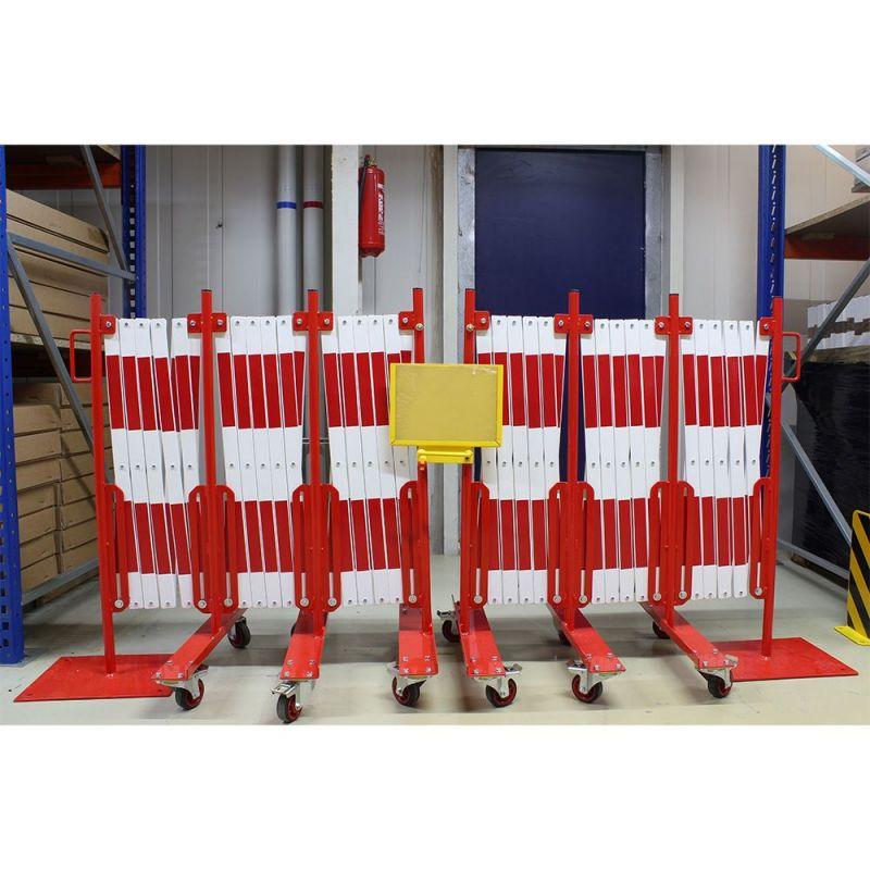 Barrière d'accès extensible pour voie très large | Barrière de sécurité | Barrière et poteau de Sécurité