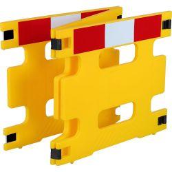 Barrière de protection pliable en 2 ou 3 parties | Barrière de sécurité | Barrière et poteau de Sécurité