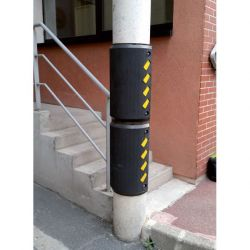 Butoir de protection blindé mural | Protection des entrepôts