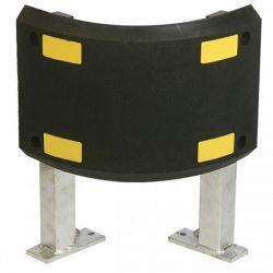 Butoir de protection blindé sur pieds | Protection des entrepôts