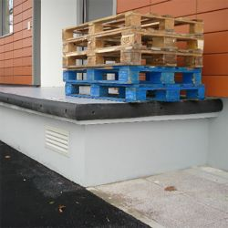 Butée de protection linéaire en demi rond | Equipement de quai | Equipement de sécurité
