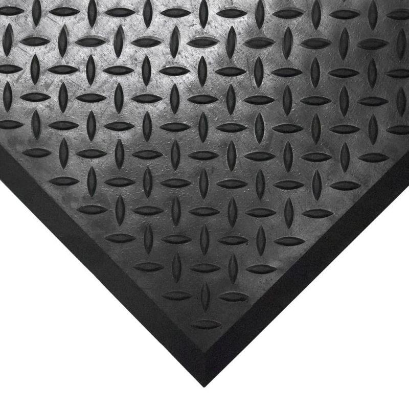Revêtement Anti-fatigue| Surface tôle diamant, COMFORT-LOK