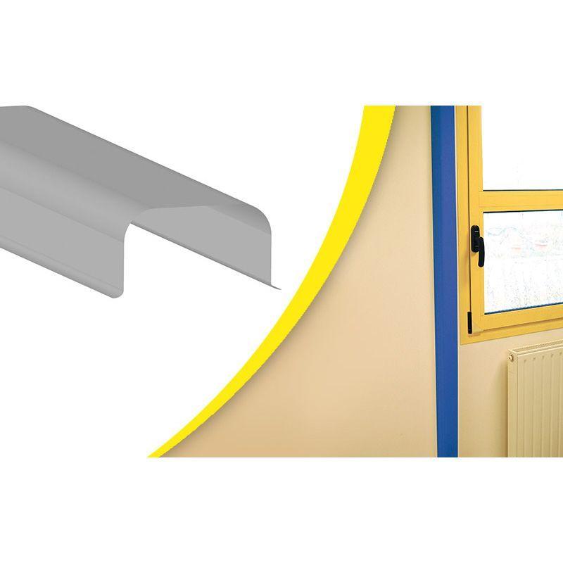 Lot de 5 protection de conduits en ABS   Equipement de protection des bâtiments