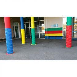 Protection de poteaux clipsable | Equipement de protection des bâtiments