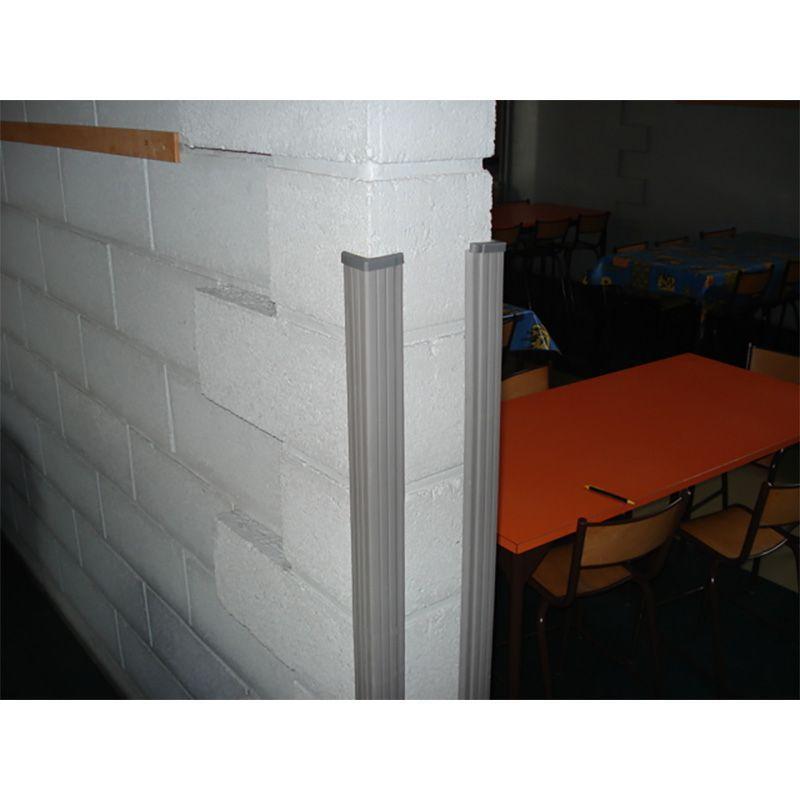 Protection d'angles en élastomère ultra renforcée | Equipement de protection des bâtiments