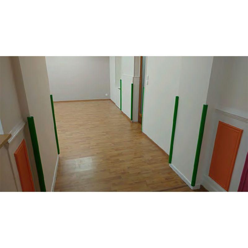 Protection d'angle 3/4 rond en élastomère | Equipement de protection des bâtiments