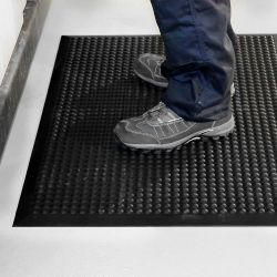 Tapis antifatigue ESD à surface à bulles avec tapis de protection électrique - Revêtement Isolants & ESD COBA ELITE ESD