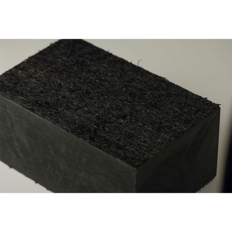 Bastaing de calage et cales d'atelier multifonctions, plaques de calage en plastique noir incassable et imputrescible