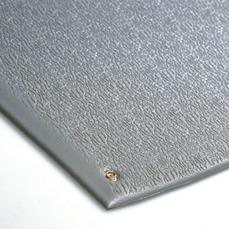 Tapis antifatigue ESD à surface granuleuse avec tapis de protection électrique - Revetement Isolants & ESD COBA STAT