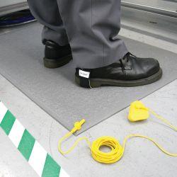 Tapis antifatigue ESD à surface granuleuse avec tapis de protection électrique dans notre gamme de Revetement Isolants & ESD
