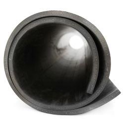 Bâche lisse en caoutchouc noir avec renforcement textile pour protéger sol et surface. Bâches en caoutchouc multi usage