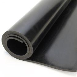 Bâche lisse en caoutchouc noir pour décapage multi-usage. Bâches en caoutchouc à applications multiples.