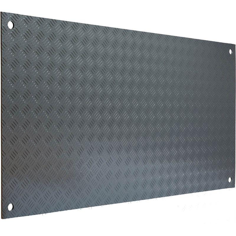 Plaque de roulage 15T - aques de roulage plastique incassable et plaques de protection des sols