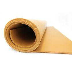 Bâche lisse en caoutchouc naturel brun pour décapage pour protéger sol et surface. Bâches en caoutchouc multi-usage.