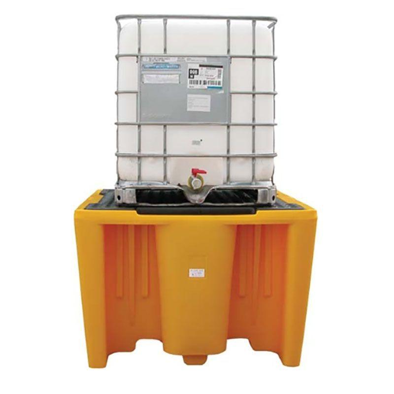 Bac de rétention plastique pour 1 IBC ou GRV | Bac de rétention plastique
