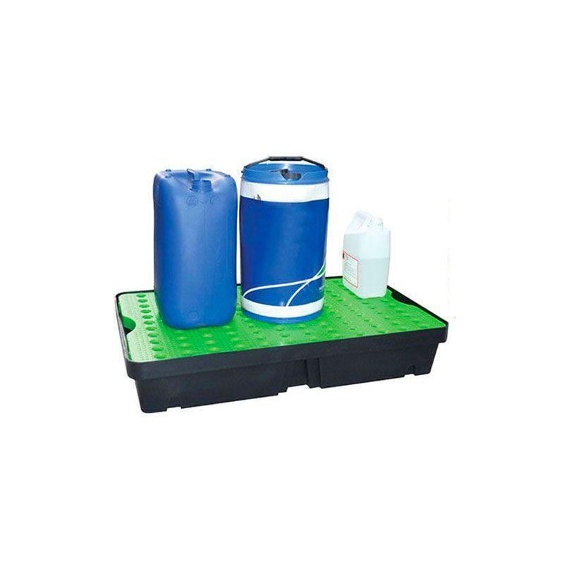 Bac de rétention en PE avec caillebotis   Bac de rétention plastique