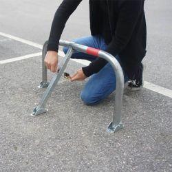 Arceau de parking avec cadenas | Equipement de parking et de voirie