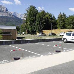 Arceau de parking solaire télécommandé | Equipement de parking et de voirie